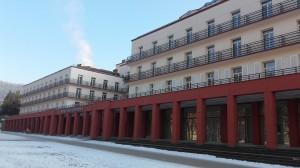Budynek Sanatorium Leśnik - Drzewiarz